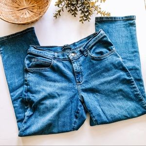 Lee Riders | Cropped Ankle High Waisted Jeans